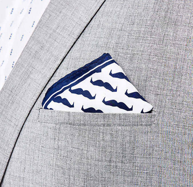 Lots-of-Mo Pocket Square